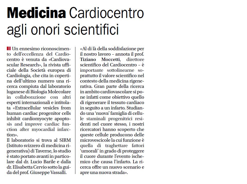 medicina cardiocentro vassalli