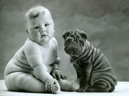 bambino-cane-sharpei-anne-geddes-foto
