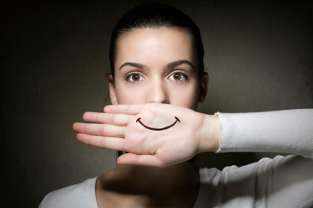 depressione sorridente